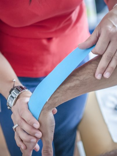 Physiotherapy tape